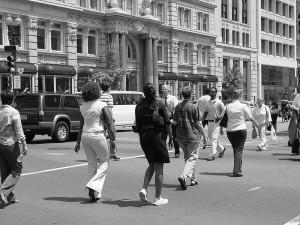 Executives, Understanding your chances, PedestriansCrossingStreet